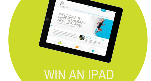 Win an iPad in celebration of World Physio Day – Closes 31st Oct!