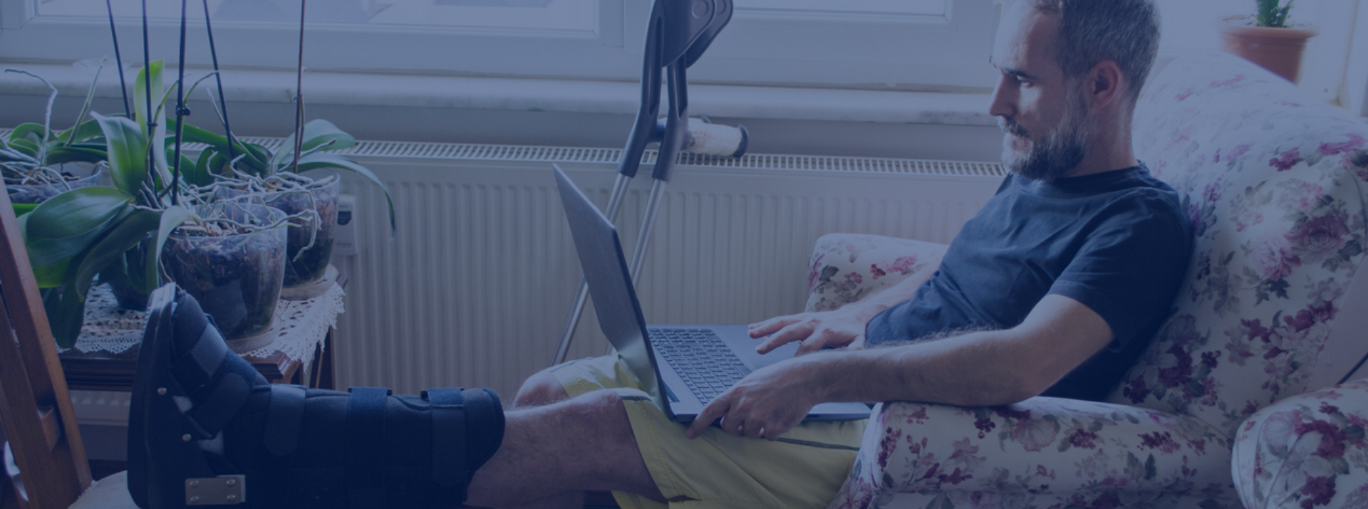 Online video consultations keep your rehabilitation on track.