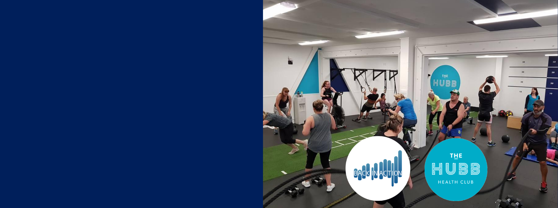 Keep building on the rehab you have done with us!  Team up with personal trainers we recommend at The Hubb Health Club.